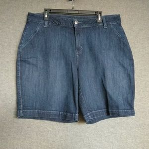 Lane Bryant Stretch Jean Shorts